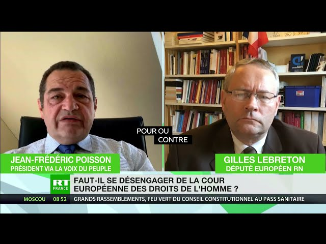 Pour ou contre : Faut-il se désengager de la Cour européenne des droits de l'homme ?