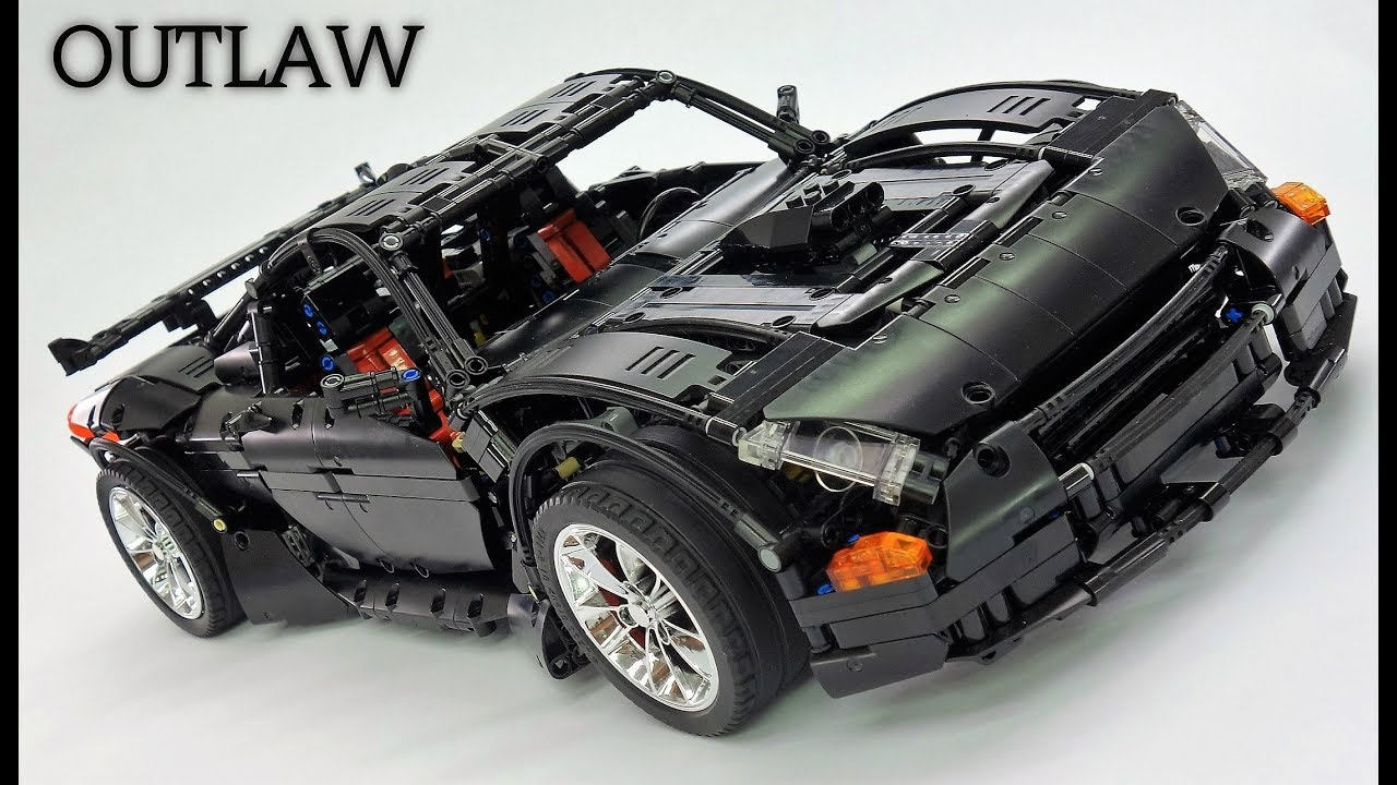 crowkillers custom lego technic 2017 outlaw supercar. Black Bedroom Furniture Sets. Home Design Ideas