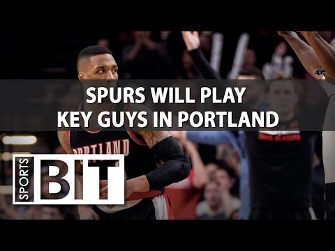 San Antonio Spurs at Portland Trail Blazers | Sports BIT | NBA Picks