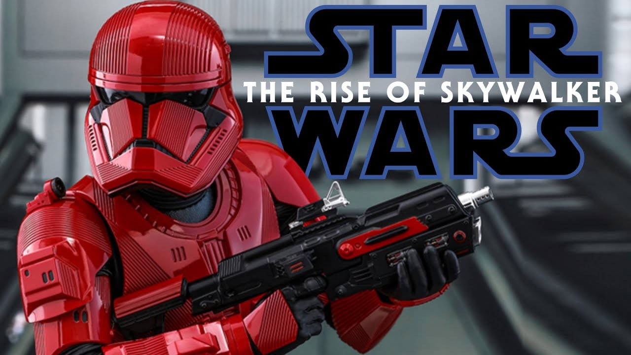 sith trooper revealed the rise of skywalker new
