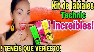 TECHNIC KIT DE LABIALES INCREIBLES POR 1,99EUROS