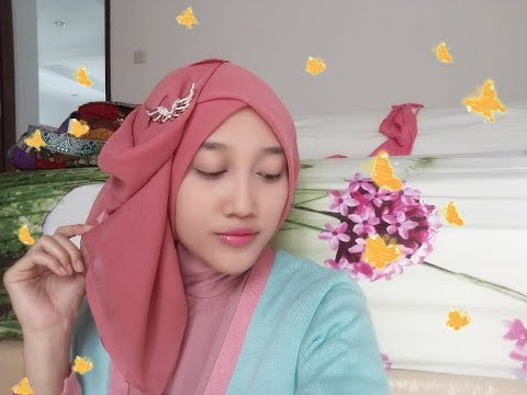 Tutorial Hijab Segiempat Pesta Simple | Selvyana Cintyananda