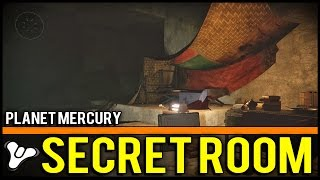 "Destiny: Planet Mercury ""lighthouse"" Secret Room In The Ruins! 