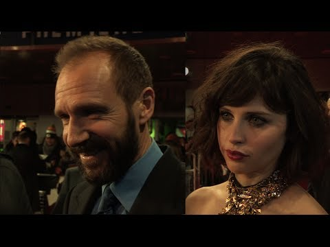 The Invisible Woman  Premiere s inc Ralph Fiennes, Felicity Jones, Joanna Scanlan
