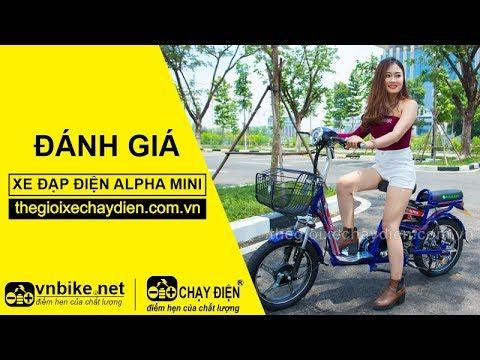 Đánh giá xe đạp điện Alpha Mini