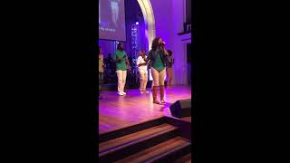 April Wheat singing Tasha Page Lockheart I Will Call Upon the Lord