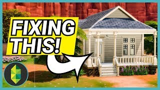 Renovating a Crap House, Now it's Beautiful! (Sims 4)