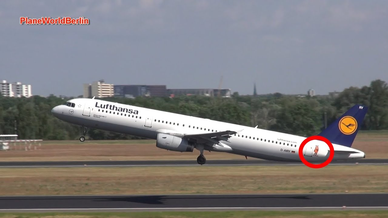lufthansa die maus airbus a321 d airy takeoff youtube. Black Bedroom Furniture Sets. Home Design Ideas
