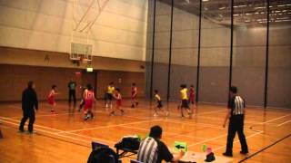 2016 3 10 男子小學4強 漢華 vs 聖雅各 1