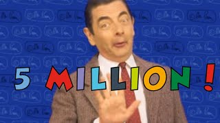 5 Million Subscribers! | Funny Clips | Mr Bean Official