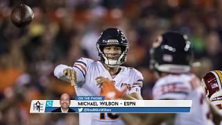 Michael Wilbon: Chase Daniel Is NOT a Better Bears QB Option Than Trubisky   The Rich Eisen Show