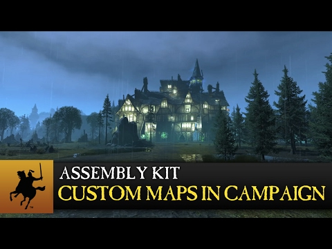 Total War: WARHAMMER - Assembly Kit Update - Custom Battle Maps in Campaign