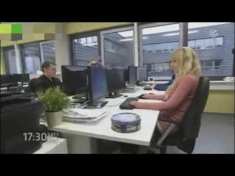 German  Broadcast SAT.1 17:30 live visiting EVISCAN