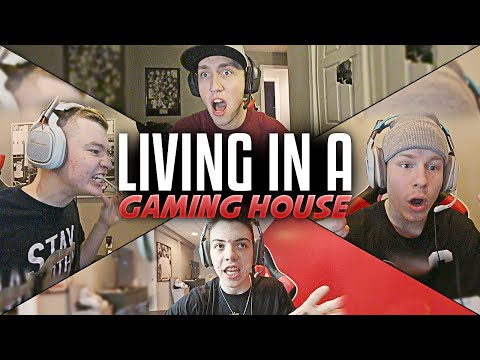 Living in a Gaming House..