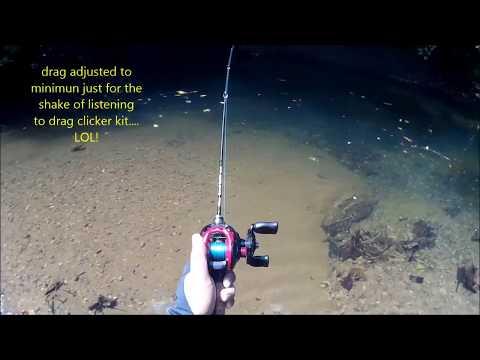 Upstream Anglers: Casting & River Trekking BORNEO: OLEG Drag Clicker Field Test