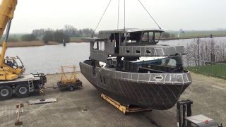 Privateer Trawler 50 - 2016 - Construction hull & superstructure
