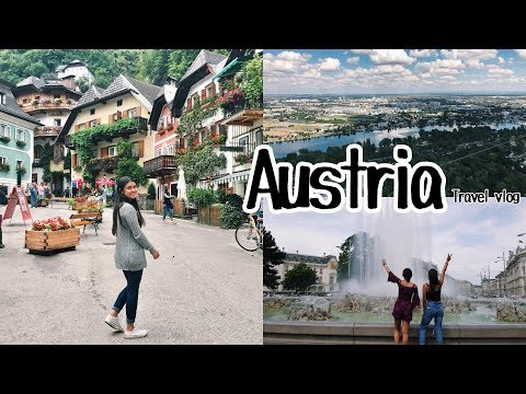 AUSTRIA TRAVEL VLOG 2017! | Maria Leahflor