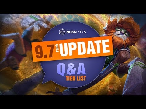 UPDATED League of Legends Mobalytics Patch 9.7 Tier List New OP Champions And Q&A thumbnail