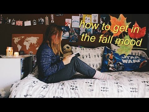 How To Get In The FALL MOOD! Fall Inspiration 🍂