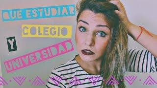 ¿Qué estudiar? | Universidad vs Colegio, Mi experiencia | Orchid Style