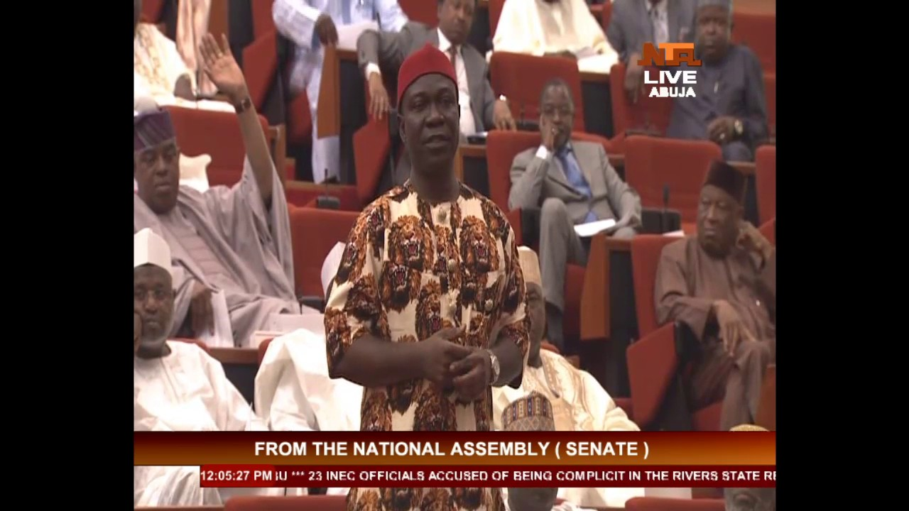 National Assembly : Questions and answers at Magu's Senate Screening