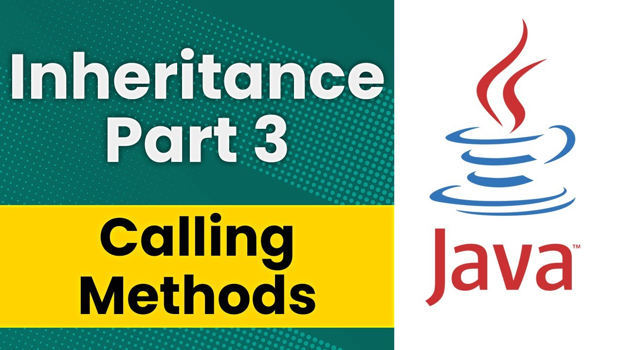 Inheritance in java part 3 calling methods in a superclass youtube inheritance in java part 3 calling methods in a superclass baditri Image collections