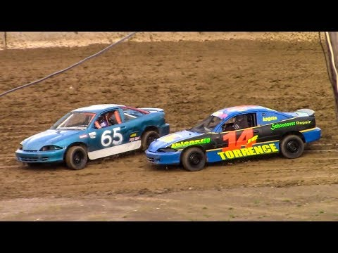 Mini Stock Heat Two | Old Bradford Speedway | 5-20-18