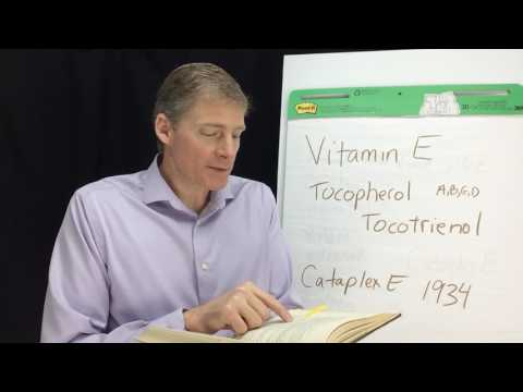 Real Vitamin E: Throw Away the Modern Fake Vitamin E