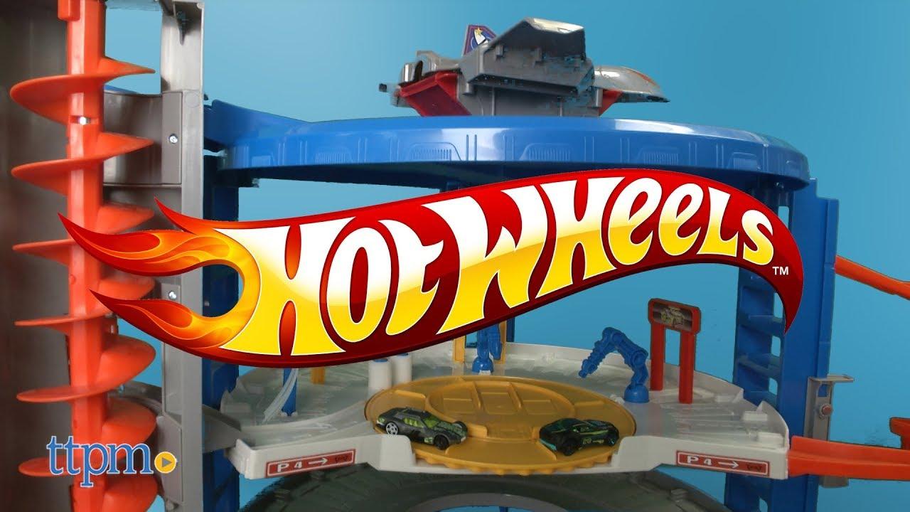 hot wheels parkgarage