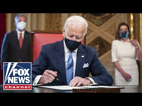 After pledging unity Biden is set to undo Trump policies through executive order