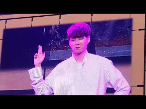 180101 INFINITE WooHyun Dancing To Sunmi Gashina 인피니트 선미 가시나
