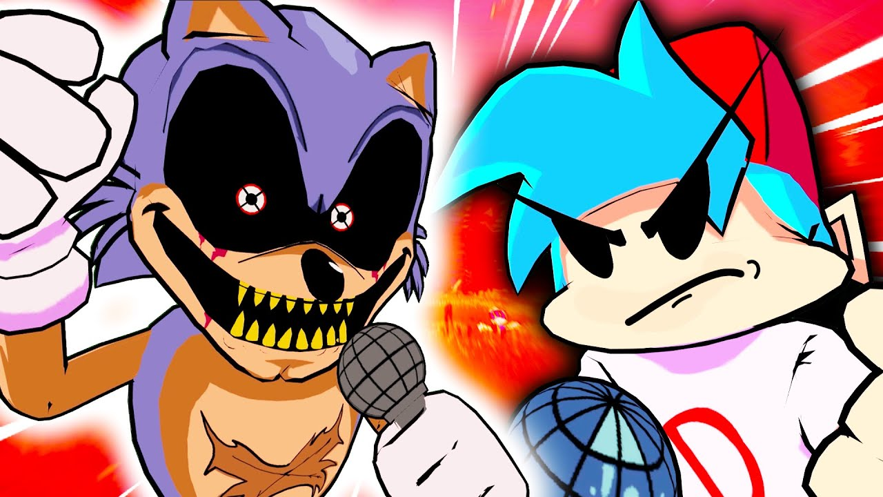 Sonic.EXE V.S Boyfriend in Friday Night Funkin' VR Part.2 - (VRChat: FNF Mods)