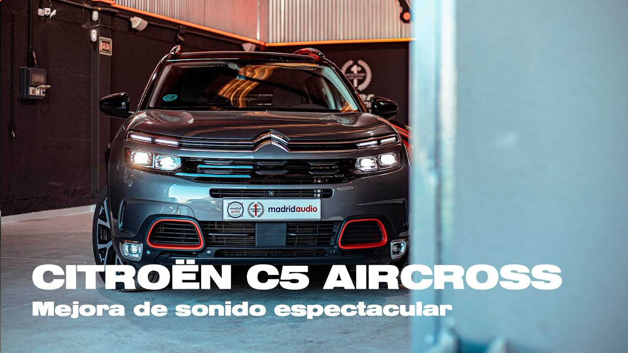 CITROEN C5 AIRCROSS   Equipo completo de sonido con amplificador integrado en consola