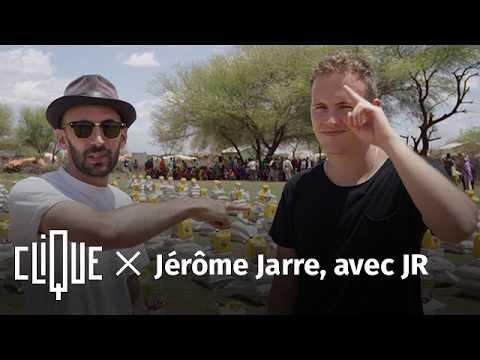 EXCLU : Clique x Jérôme Jarre, par JR