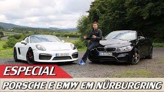 PORSCHE BOXSTER SPYDER E BMW M4 CABRIO EM NÜRBURGRING - ESPECIAL #34 | ACELERADOS