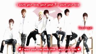 ukiss cinderella eng sub with lyrics on screen colour coded http://...