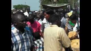 Balanda Dancing Group, First Independence Anniversary 09.07.2012.Juuba-South Sudan