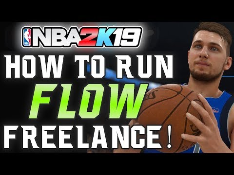 "NBA 2K19 - Why ""FLOW Freelance"" is the BEST Offense! (Tutorial) 