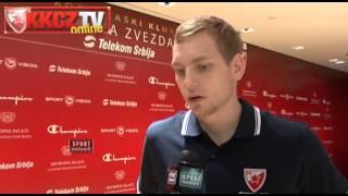 Crvena zvezda Telekom | Blazič: EP je iza mene, slede novi izazovi.