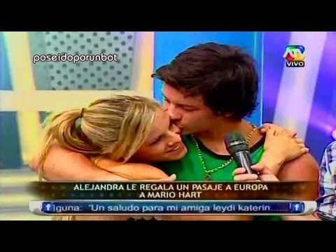 COMBATE: Alejandra Regala un Pasaje a Europa a Mario Hart 19/03/13