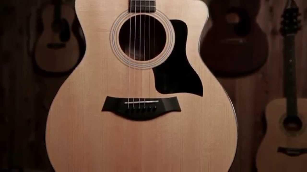 taylor 114ce grand auditorium acoustic electric guitar youtube. Black Bedroom Furniture Sets. Home Design Ideas