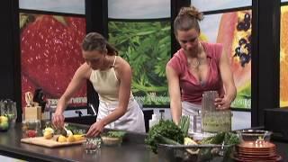 Alternative Greens - Raw Nirvana - Humus & Tabouli Raw Food Recipe