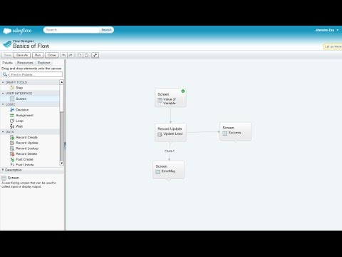 Basics of Salesforce Flow in 15 minutes - YouTube