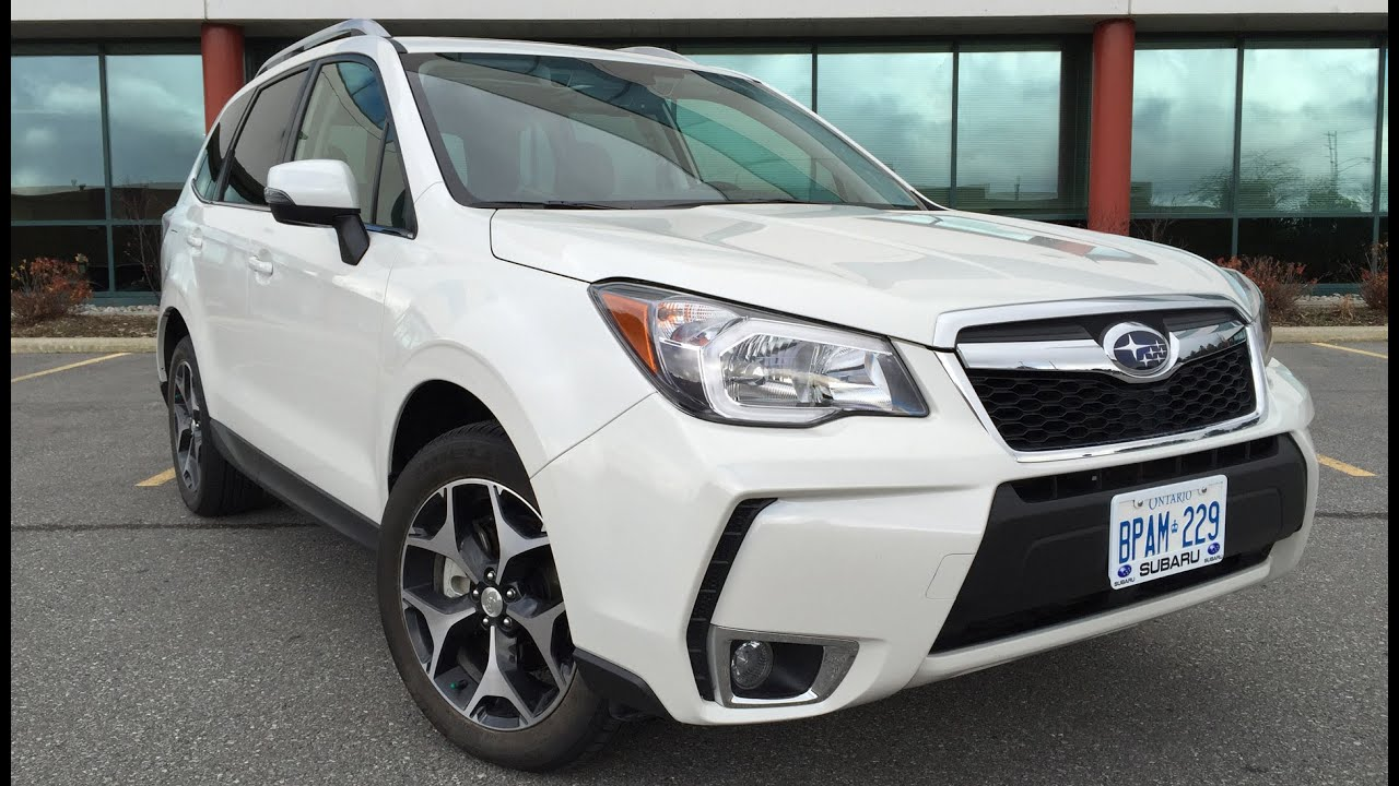 2016 subaru forester 2.0xt limited tech - review - youtube