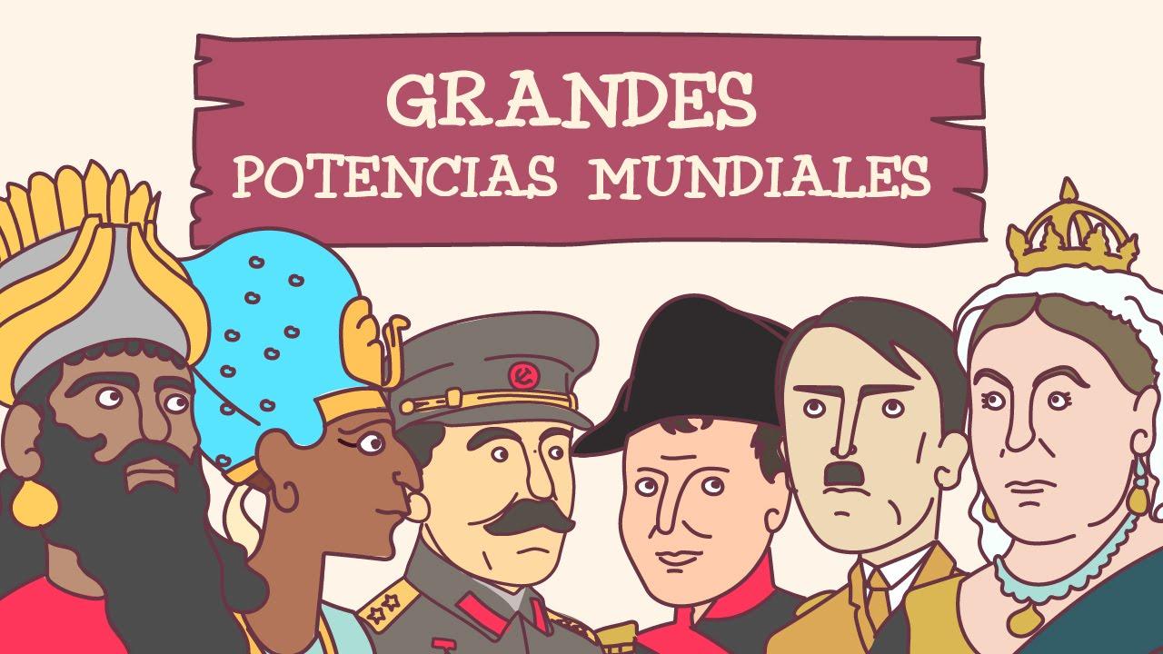 Las Grandes Potencias Mundiales A Lo Largo De La Historia Youtube