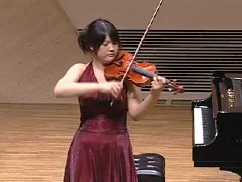 Miki Kobayashi  Paganini: 24 Caprice Op.1 No.4
