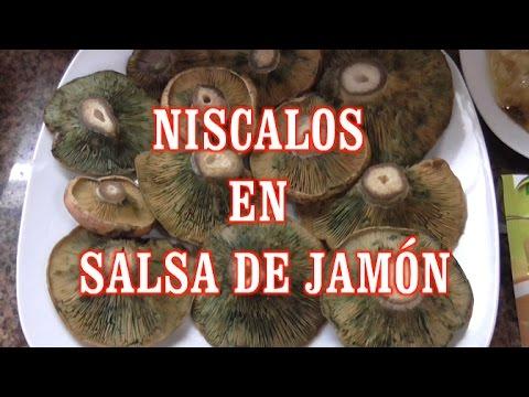 DIY NISCALOS EN SALSA DE JAMÓN