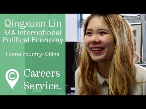 Qingxuan Lin MA International Political Economy