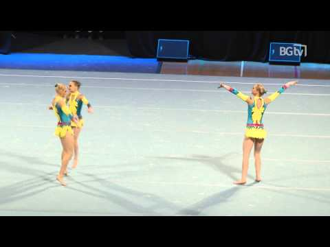 Australia - Women's Group - Senior - Dynamic - Acrobatic International