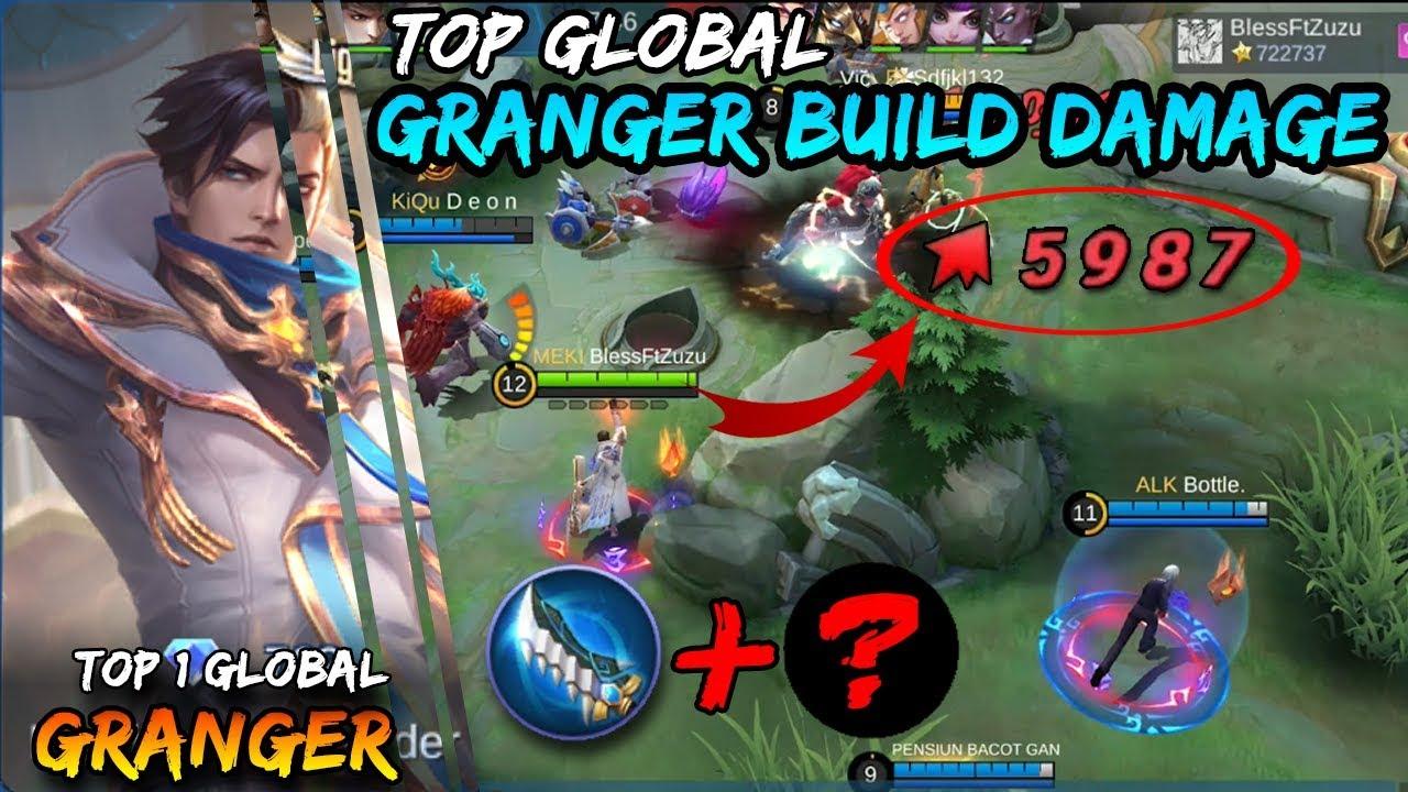 Download Build Granger Tersakit 5000k Damage Season 15 !!! - Top 1 Global Granger Mobile Legends